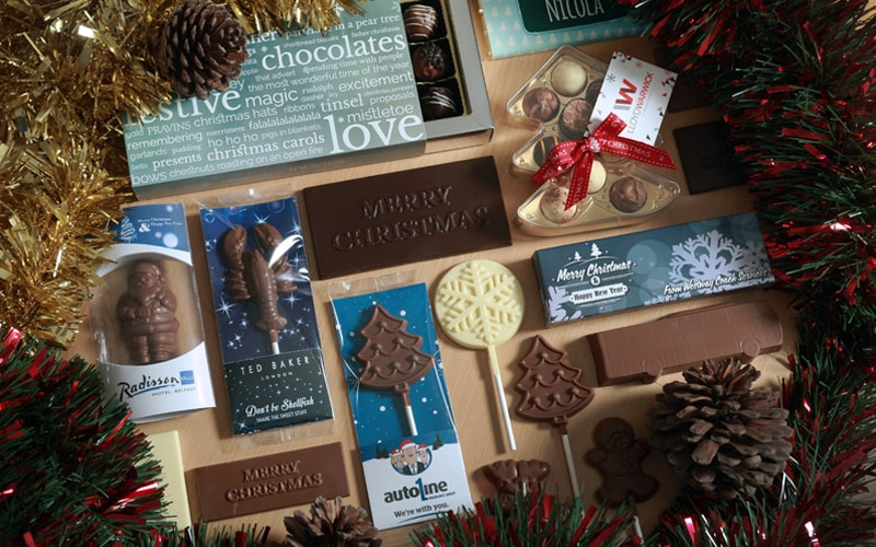 Christmas Promotional Giveaways Branded with your Details
