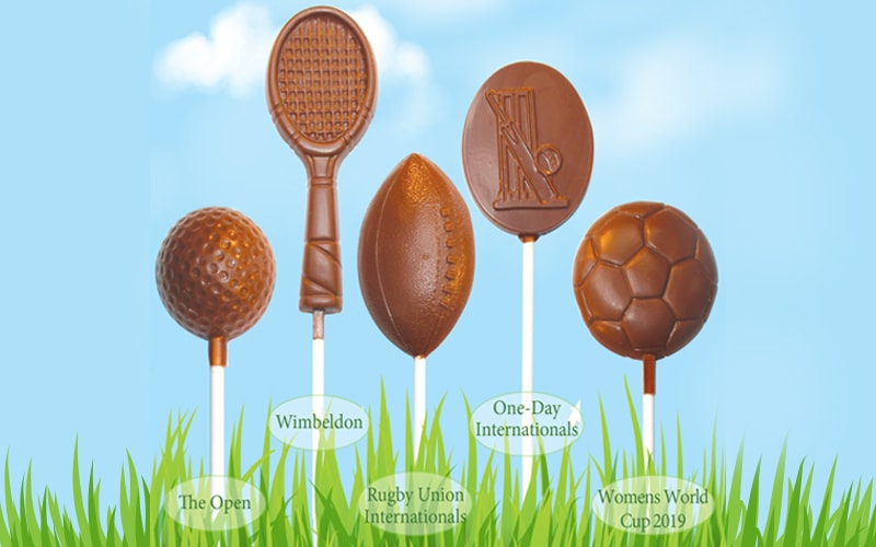 Promote Your Brand with our Match-Winning Sports Chocolate