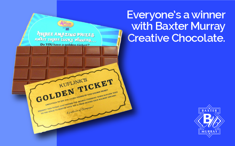 Golden Ticket Bars