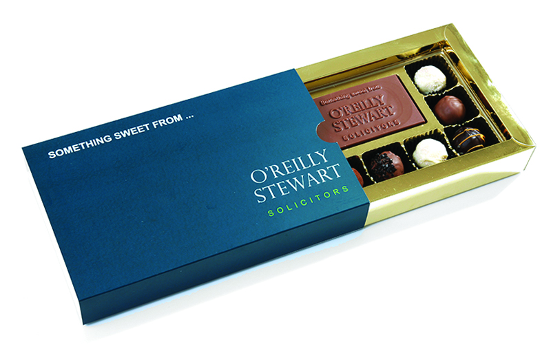 Engage your clients with a branded Truffle Box