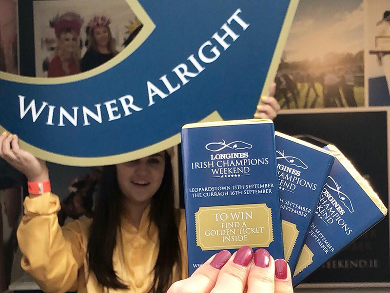Horse Racing Ireland and the Golden Ticket