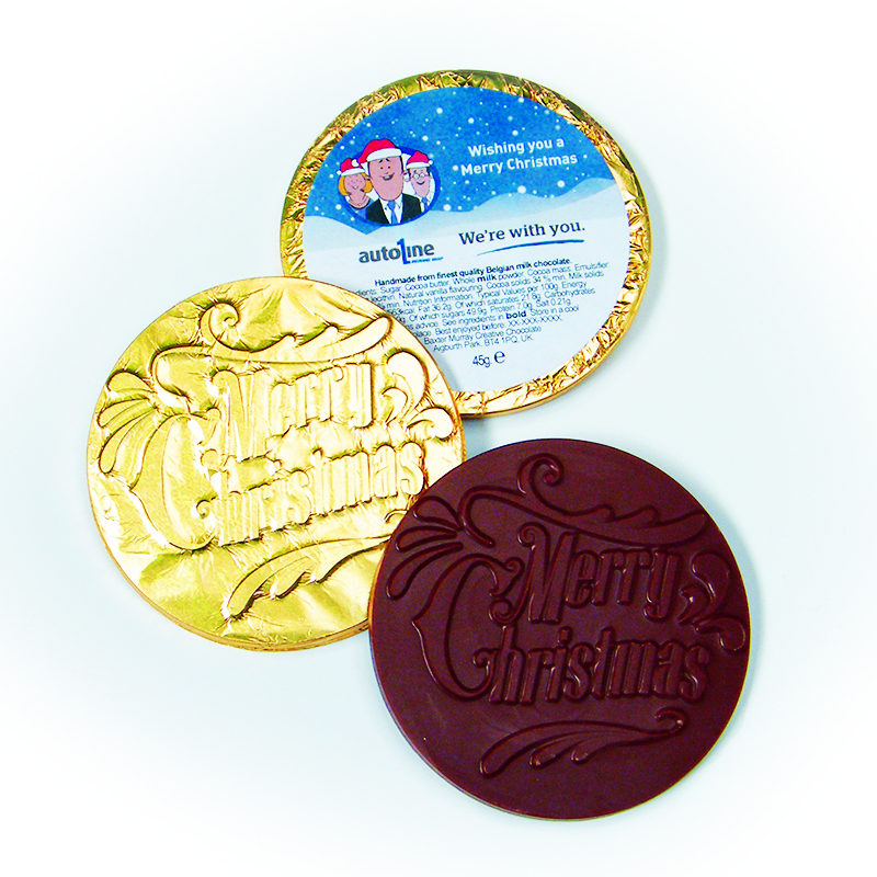 The Best Chocolate Coins for Christmas