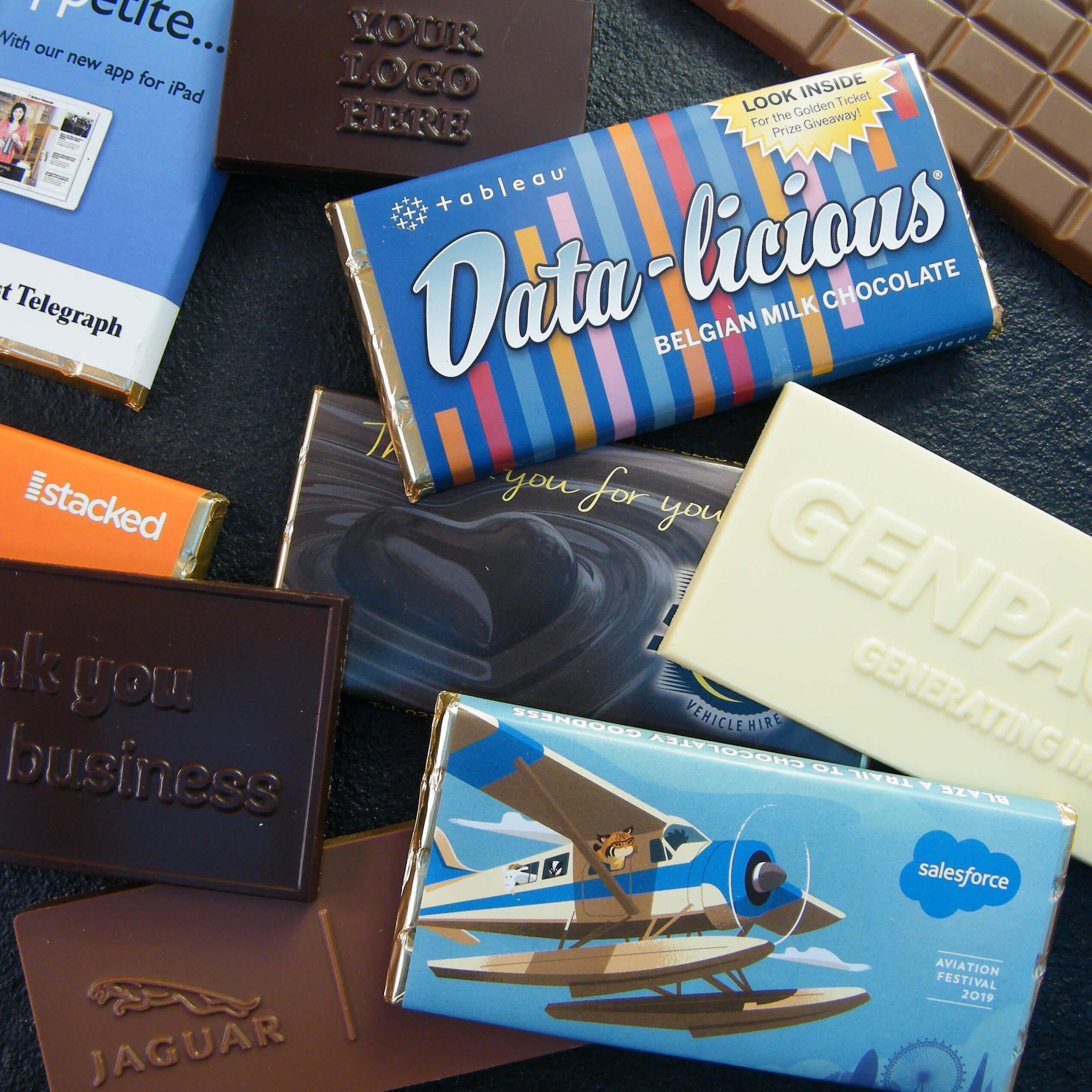 Bespoke Chocolate Bars