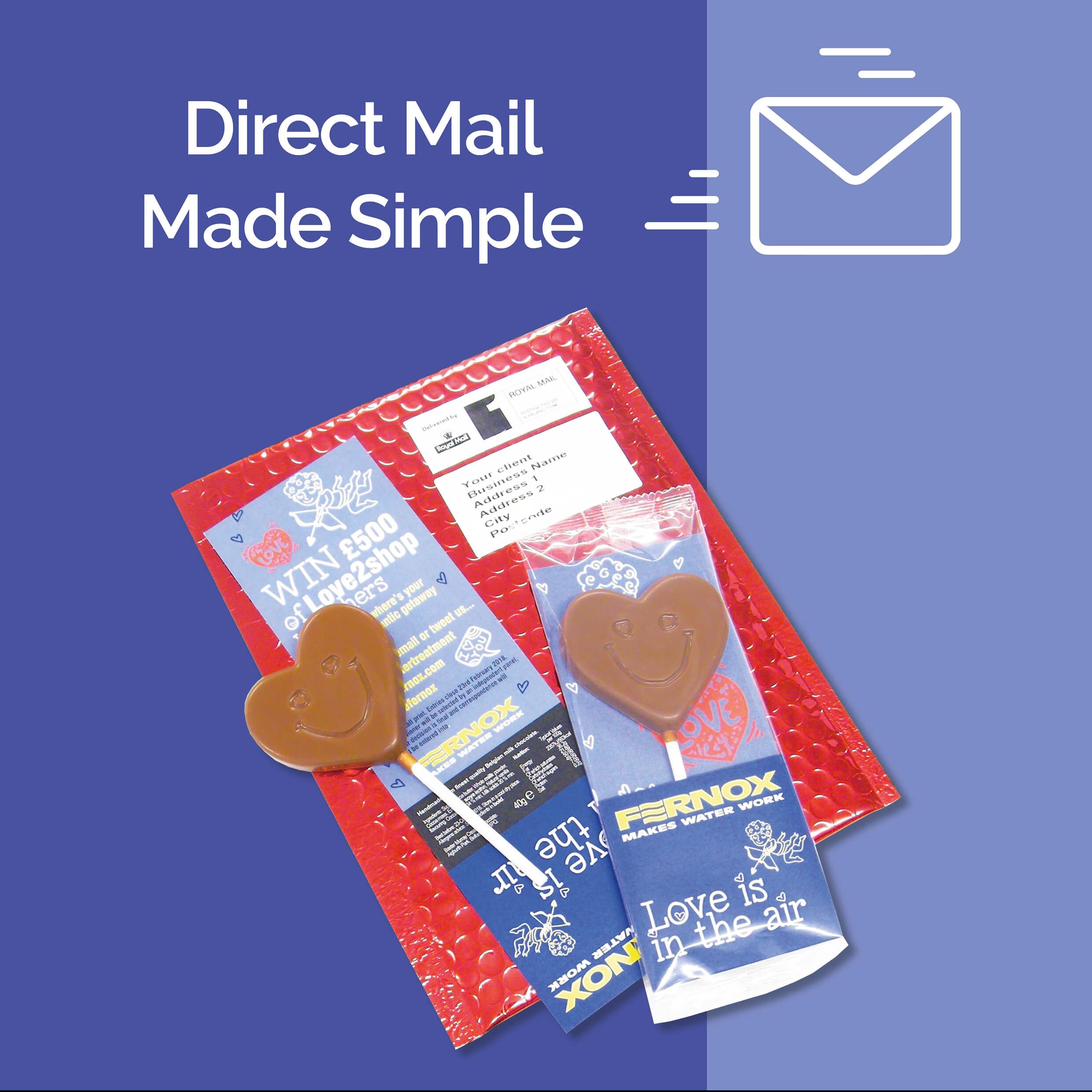 Fulfilment Service - Chocolate Gifts Direct to Clients & Staff
