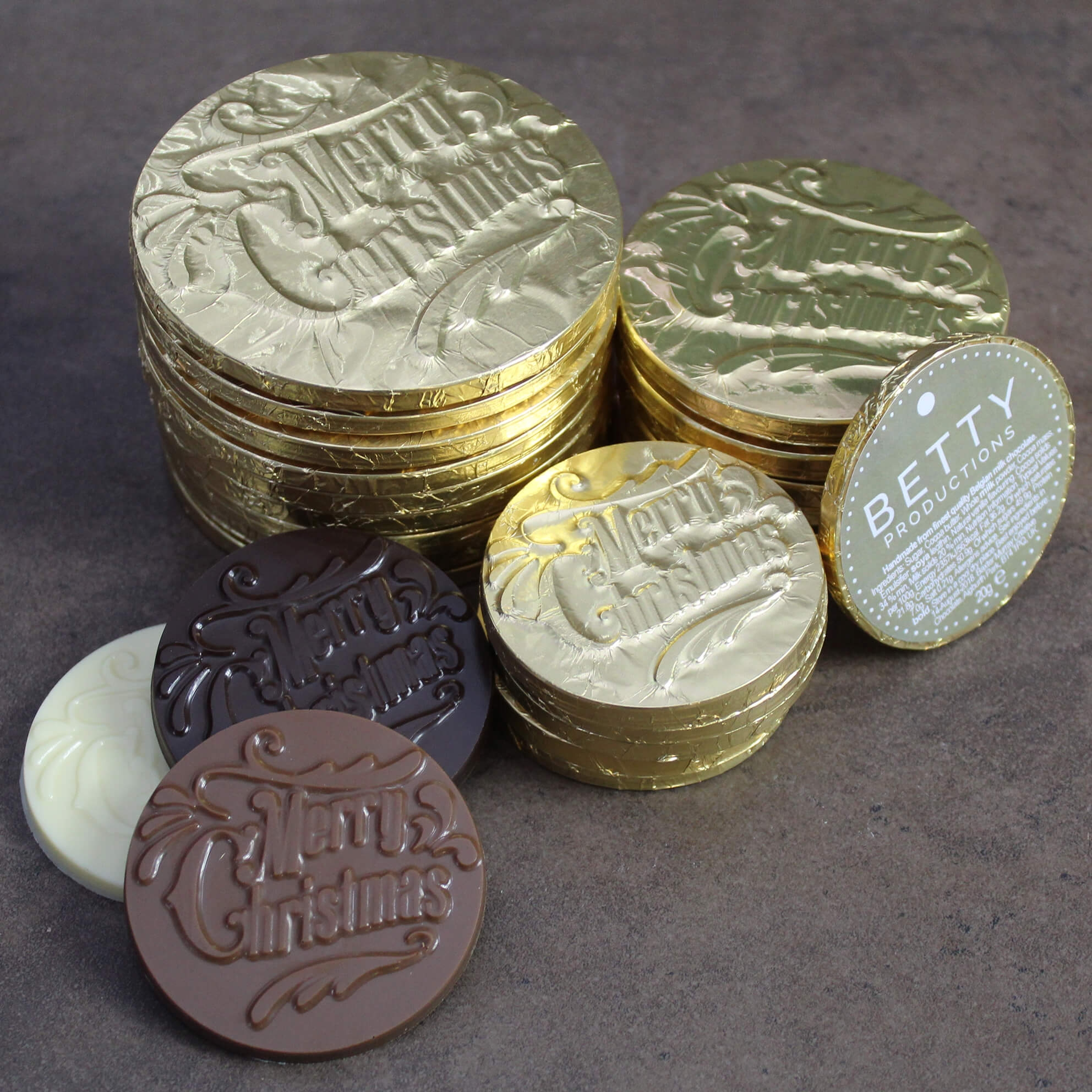 Christmas Chocolate Coins