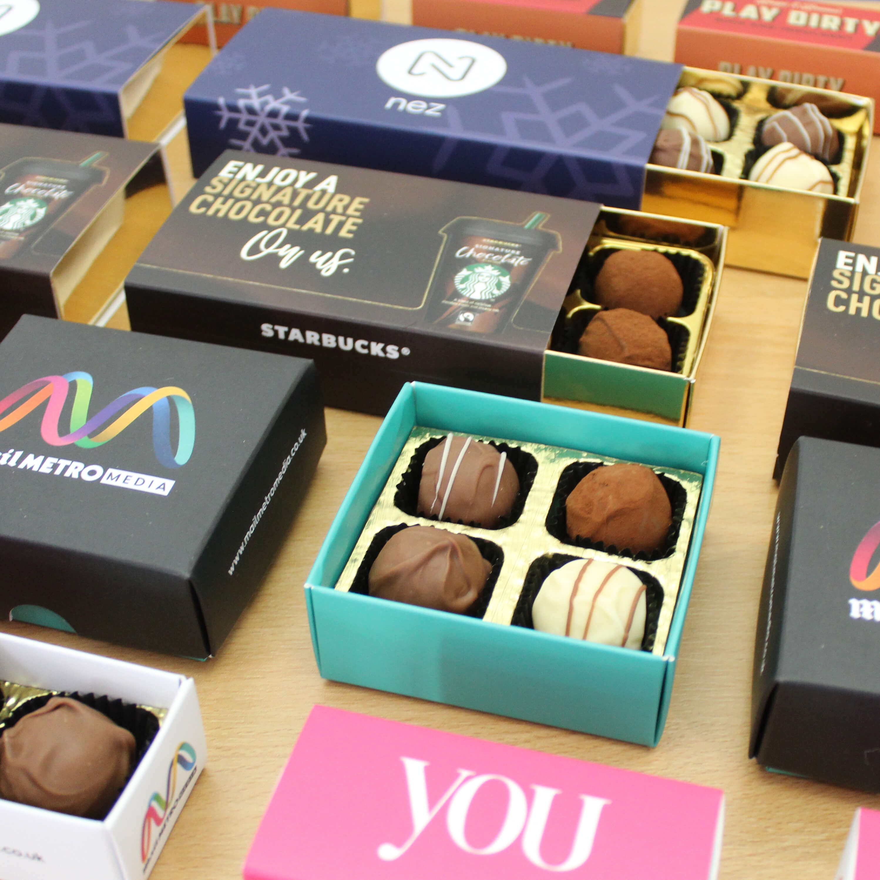 Personalised Chocolate Boxes