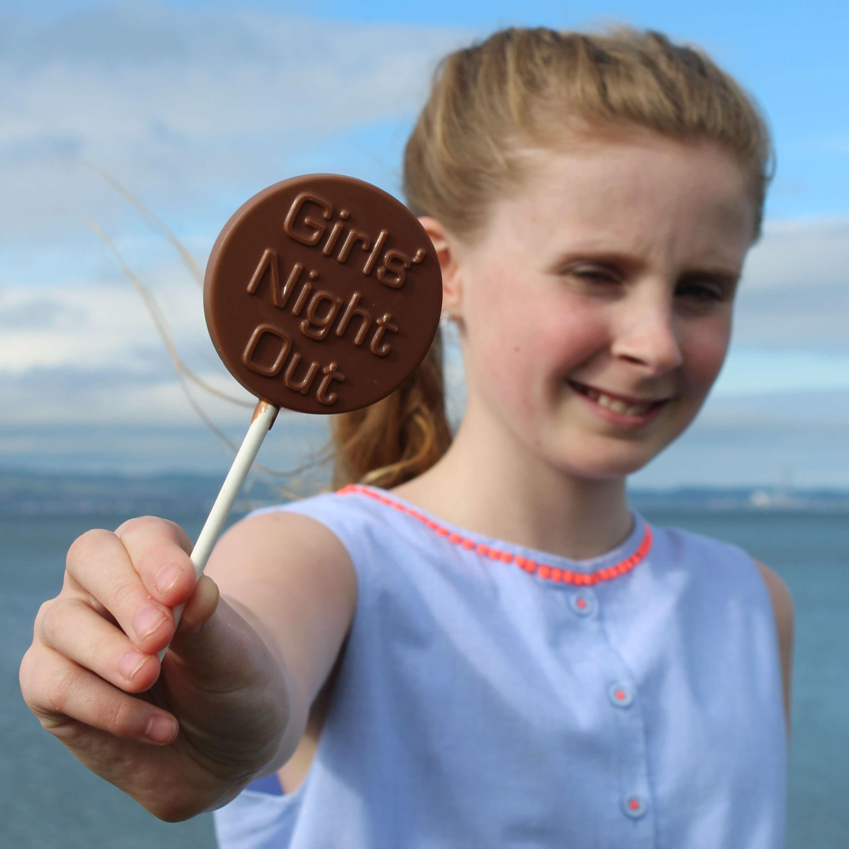 Personalised Chocolate Lollipops