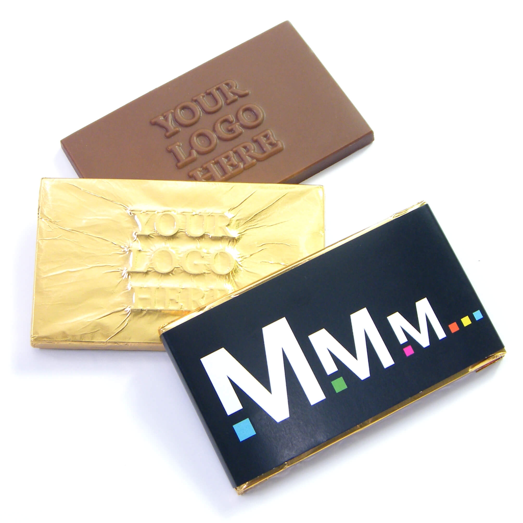 Logo Promotional Chocolate