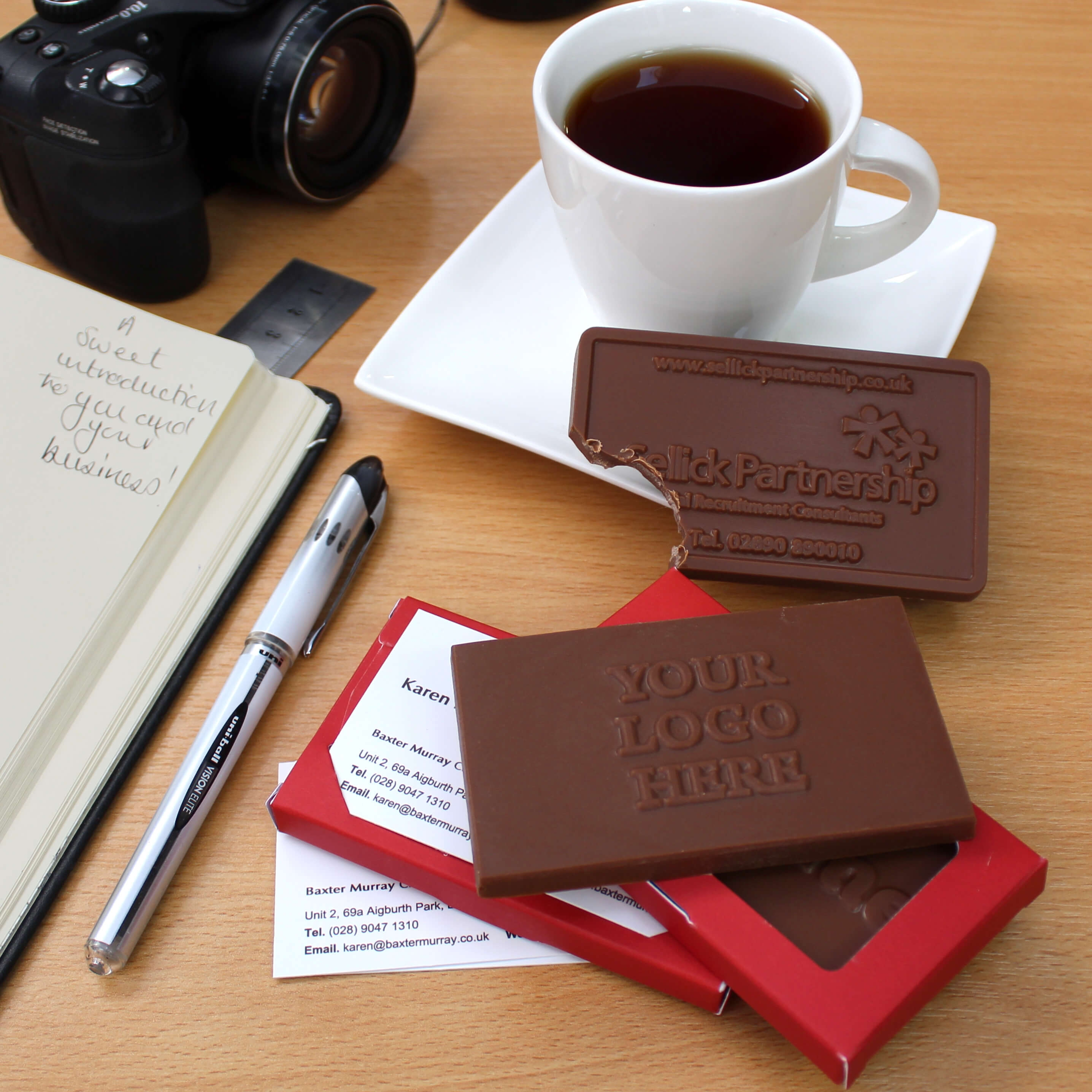Chocolate Business Cards