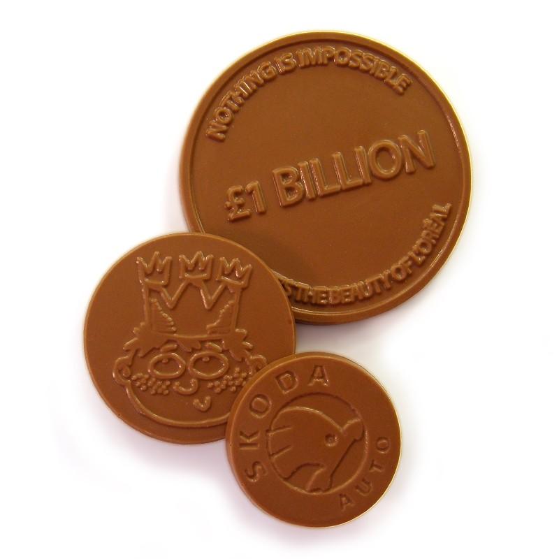 dark chocolate coins uk