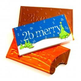 Corporate Chocolate Christmas Bar & Packaging Ideas