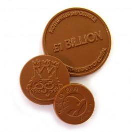 Bespoke Chocolate Coins