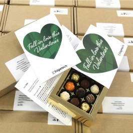 Individually Personalised Card & Chocolate Box Direct Mail Gift