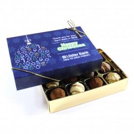 Customised Christmas 12 Chocolate Box Sleeve