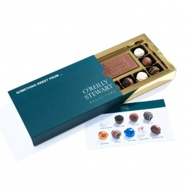 Truffle with Chocolate Business Card Gift Box