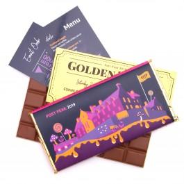 Golden Ticket Chocolate Bar
