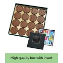 Customisable Chocolate Coin Box