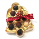 Custom Christmas Bell Truffle Box