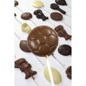 Promotional Football Chocolate Lollipop