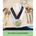 Uniquely Presented Bespoke Chocolate Medal