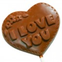 I love You Chocolate lollipop