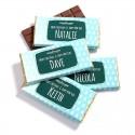 Promotional Chocolate Bars - Individual name chocolate bar