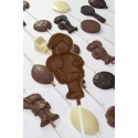 Promotional chocolate football player