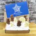 Chocolate Snowman Branded gift