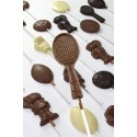 Promotional chocolate tennis racket