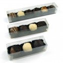 Customisable Finger Boxes of Chocolate Truffles